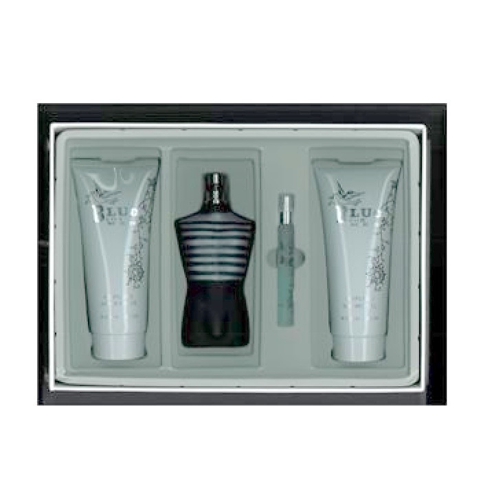 Blue Perfume Gift Set by Blue Perfume for men - 4.2oz EDP Spray, 4.2oz After Shave, 4.2oz Shower Gel, & 1.3oz EDP Spray